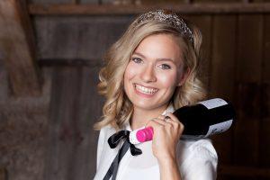 Weinkönigin Carolin Klöckner