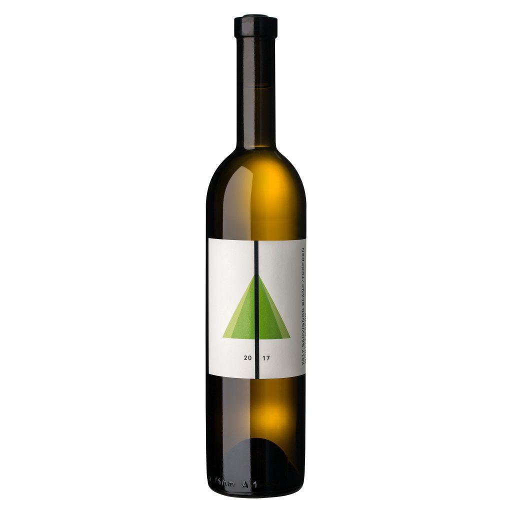 Man sieht den BUGA Sauvignon Blanc trocken der Genossenschaftskellerei Heilbronn