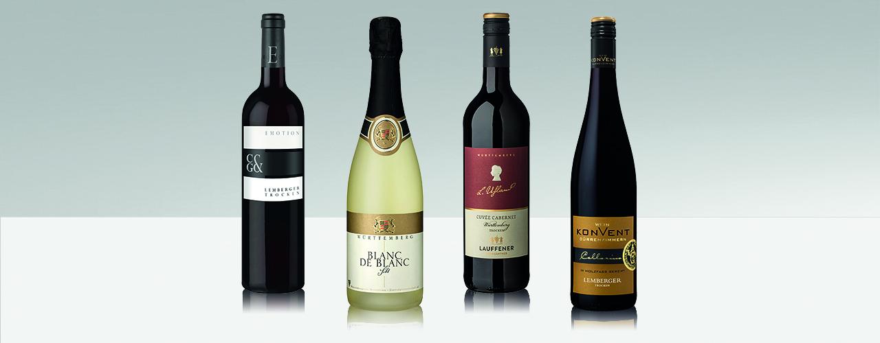 Die vier Weine der Württemberger Weingärtnergenossenschaften auf der Berlinale 2019
