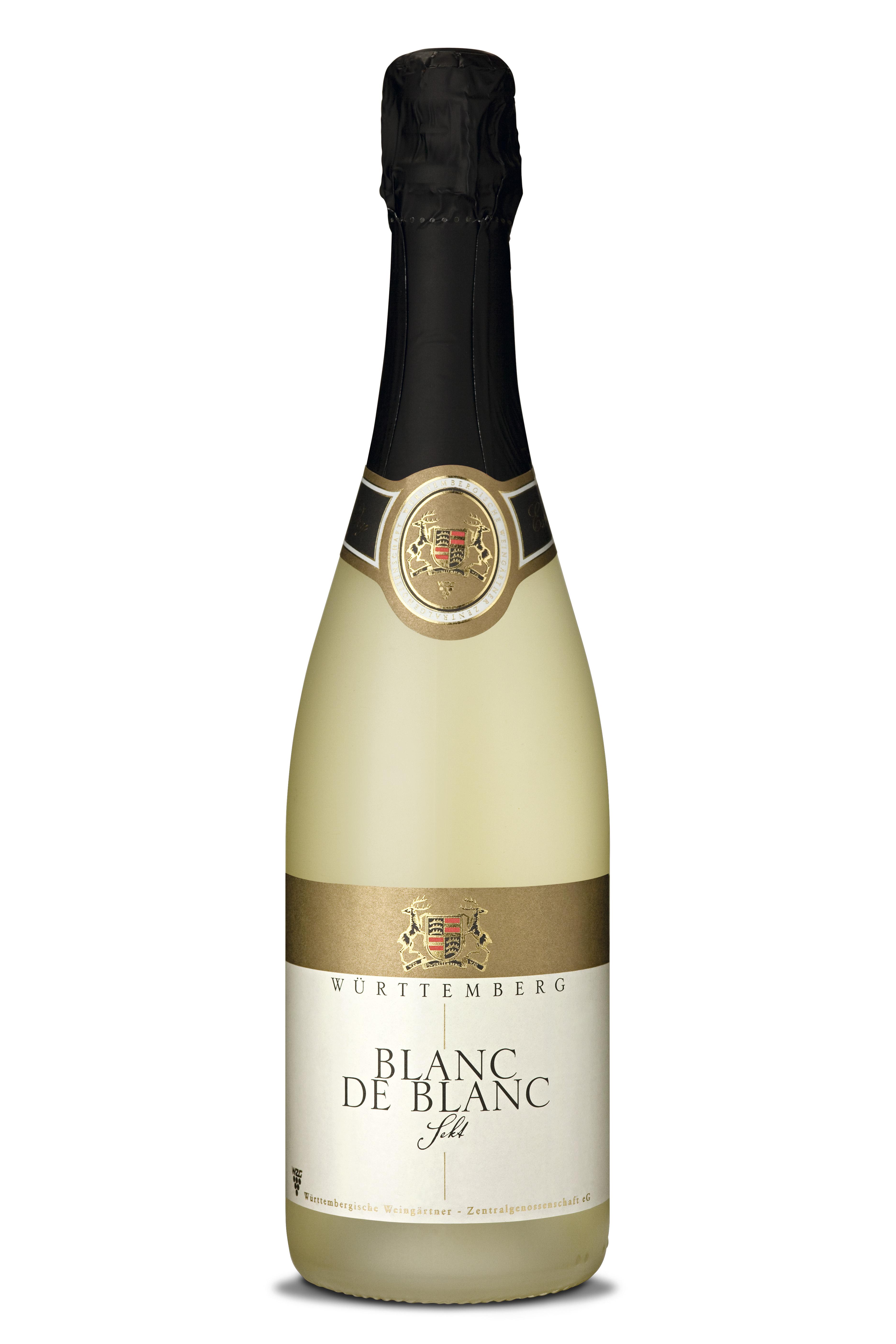 Bei der Berlinale in aller Munde: Die 2016 Blanc de Blanc Sekt Cuvée brut der Württembergischen Weingärtner-Zentralgenossenschaft (WZG)
