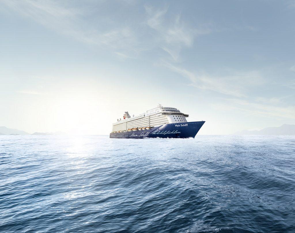 Kreuzfahrtschiff von TUI Cruiser