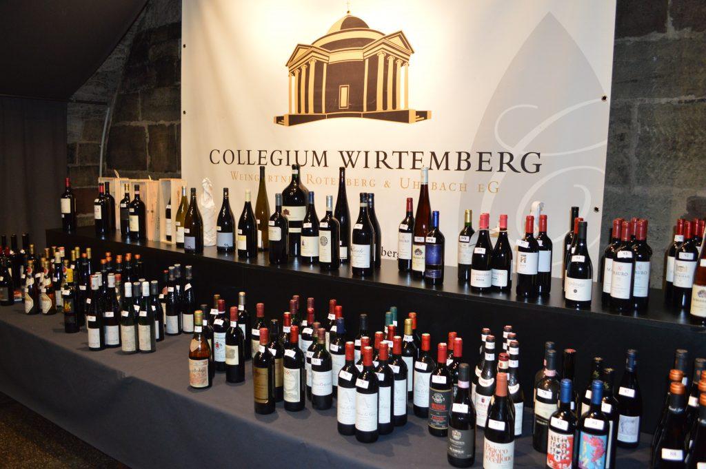 Die Weine der Weinversteigerung