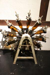 Flaschenspülmaschine von 1957