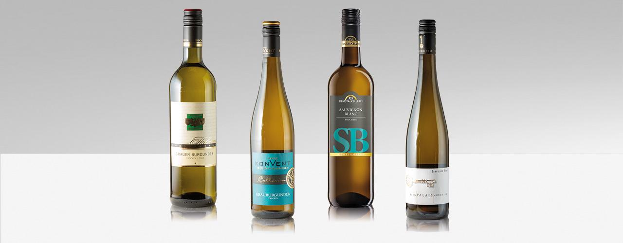 Grauburgunder und Sauvignon Blanc