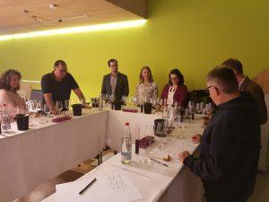 Teilnehmer des Cuvée-Workshop