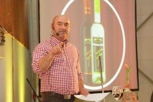 Frank Braun, Vorstand der WG Stromberg-Zabergäu und Moderator bei der KULT Weinprobe