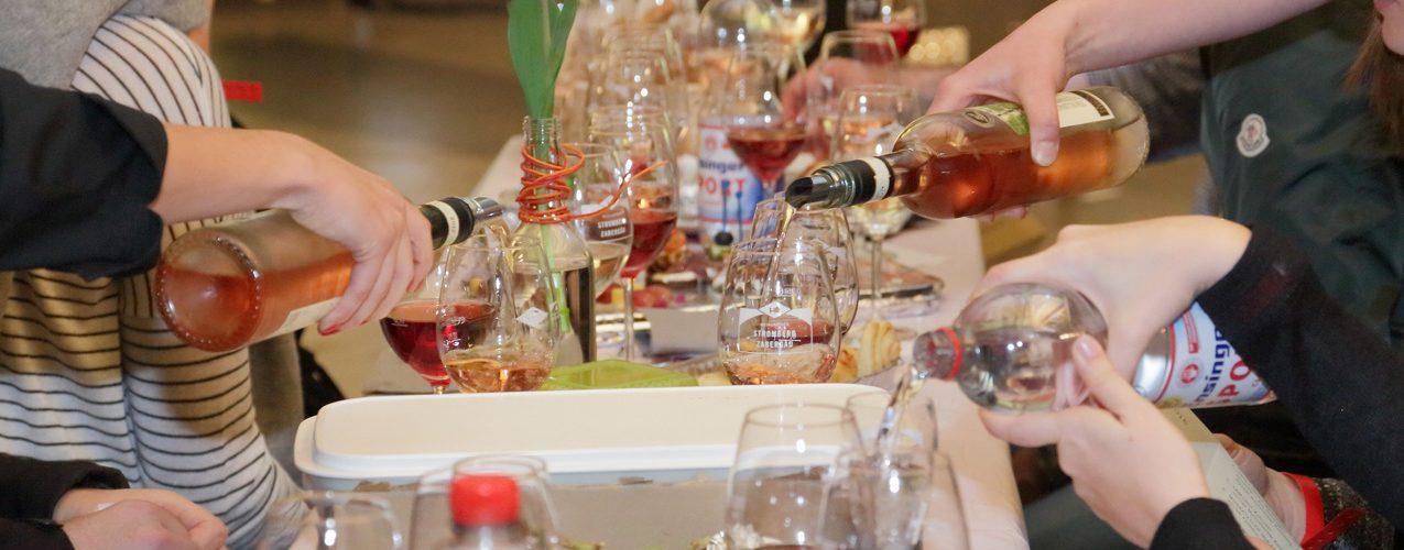 Auf der KULT Weinprobe