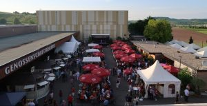 Das Heilbronner Sommerfest von oben