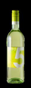 Die 2018 grad 5 Weißwein-Cuvée des Collegium Wirtemberg eG
