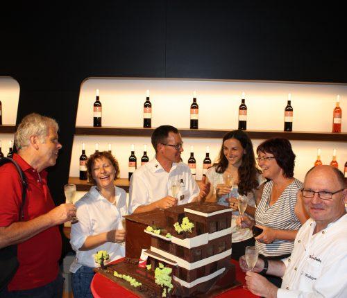 Das Schokoladenmodell des Esslinger Umbaus bei WeinSicht