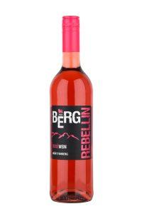 Die 2018 BergRebellin Roséweincuvée QbA der Winzer vom Weinsberger Tal eG, Löwenstein