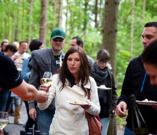 Besucher im Wildpark Bad Mergentheim