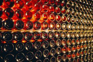 Lagerung Wein