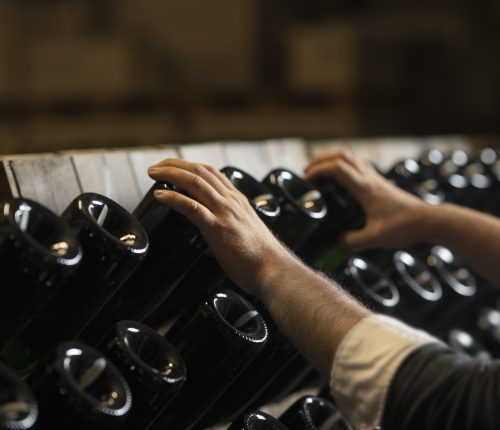 Lagerung Wein und Sekt