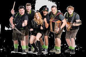 Am Samstag spielt die Hessentaler Partyband beim Weibertreuherbst