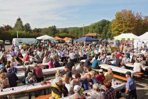 Besucher beim Herbstweinfest Stromberg-Zabergäu