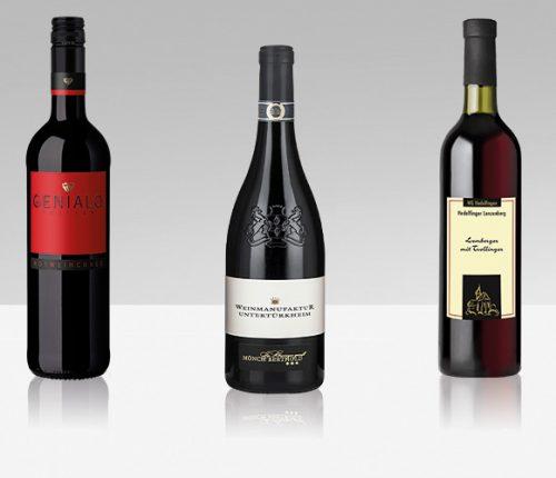 Drei rote Cuvées als Weintipp