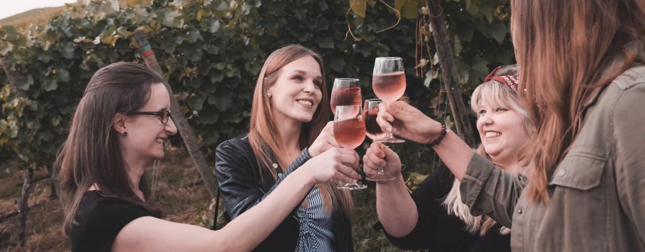 Besucher bei der esecco Party der Weingärtner Esslingen im Jahr 2019