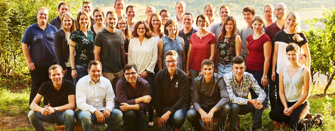 JungwinzerInnen präsentieren die WeinShow Württemberg