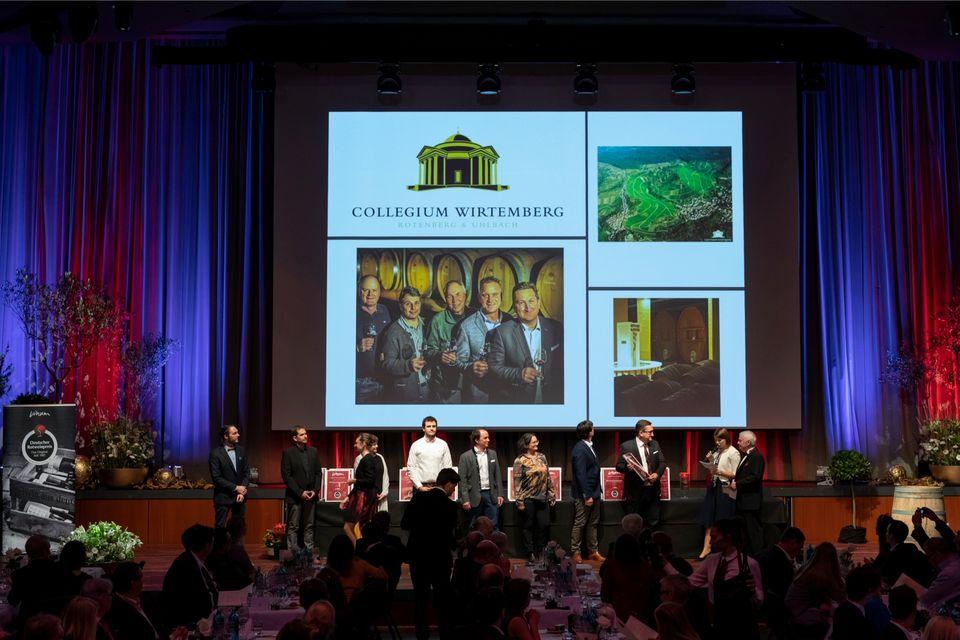 """Das Collegium Wirtemberg gewinnt den 3. Platz in der Kategorie """"Cuvées"""""""