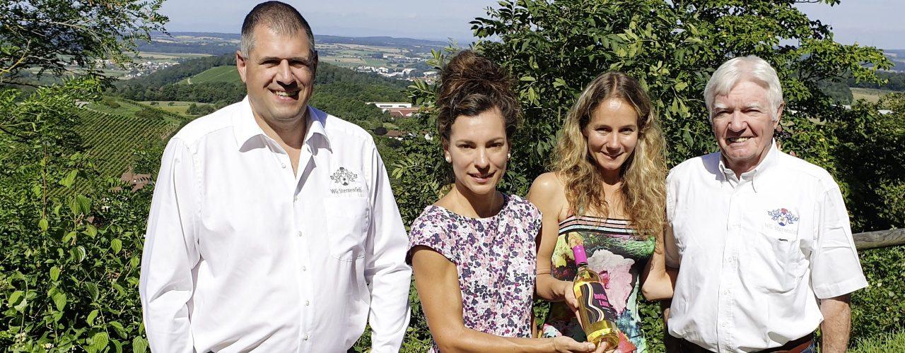 Britta Kunkel mit Geza Horvarth