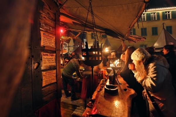 Glühwein am Nikolaus Wochenende