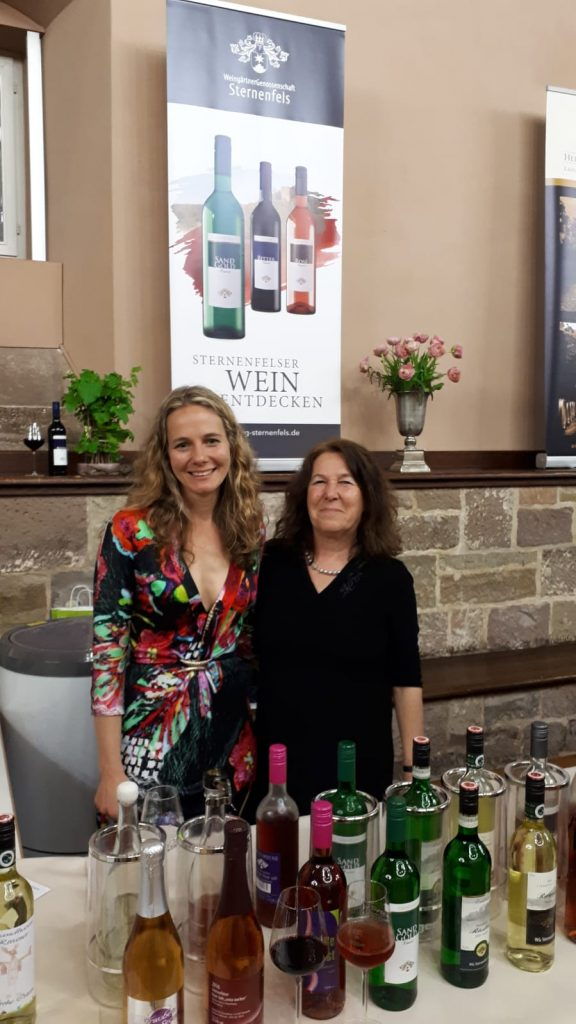 Britta Kunkel mit ihrer Mutter