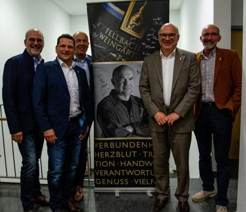Fellbachs Kellermeister Werner Seibold verabschiedet sich in den Ruhestand