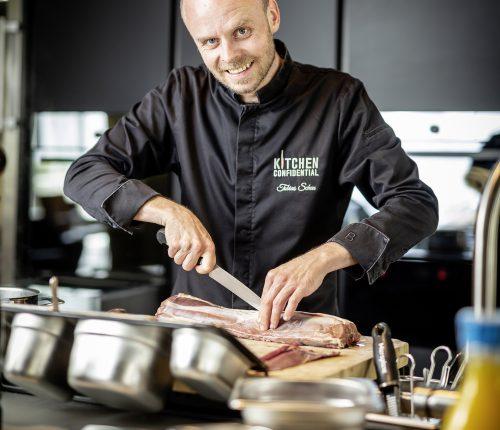 Tobias Scheuer ist Gründer der Kitchen Confidential