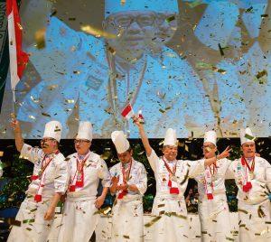 Im Olympiajahr 2020 kämpfen internationale Köche-Teams in Stuttgart vier Tage lang um den Sieg. Die Gesamtpunktzahl entscheidet, wer auf dem Siegertreppchen ganz oben steht.