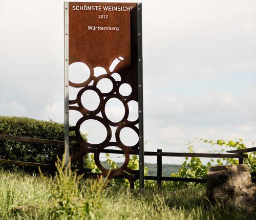 Blick von der Himmelsleiter, Schönste Weinsicht 2012