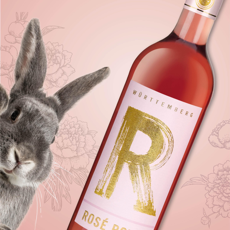 Der Gewinn im Frühlings-Gewinnspiel der weinheimat Württemberg am 12.04.: Rosé Royal der Württembergischen Weingärtner-Zentralgenossenschaft