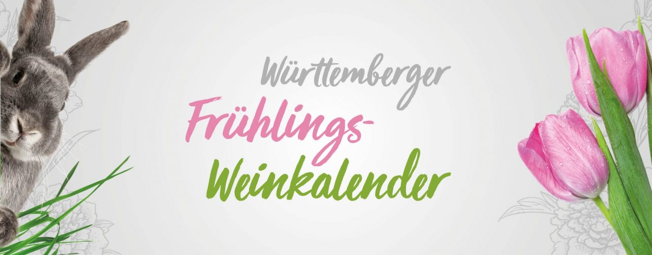 Frühlings-Weinkalender