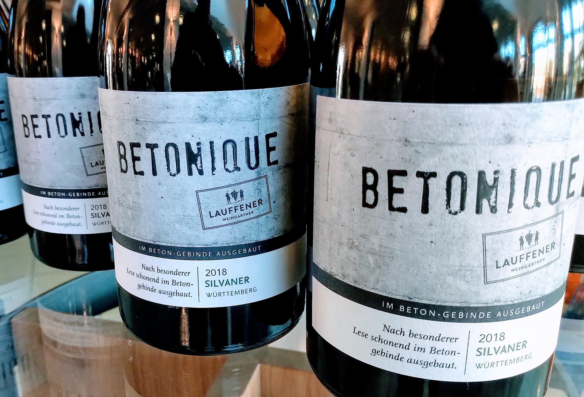 Betonique Silvaner trocken der Lauffener Weingärtner
