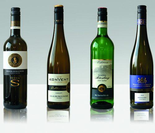 Riesling und Grauburgunder Weine