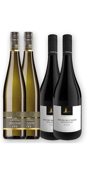 Die verkosteten Weine bei der Remstalkellerei x Lembergerland Kellerei Online Verkostung