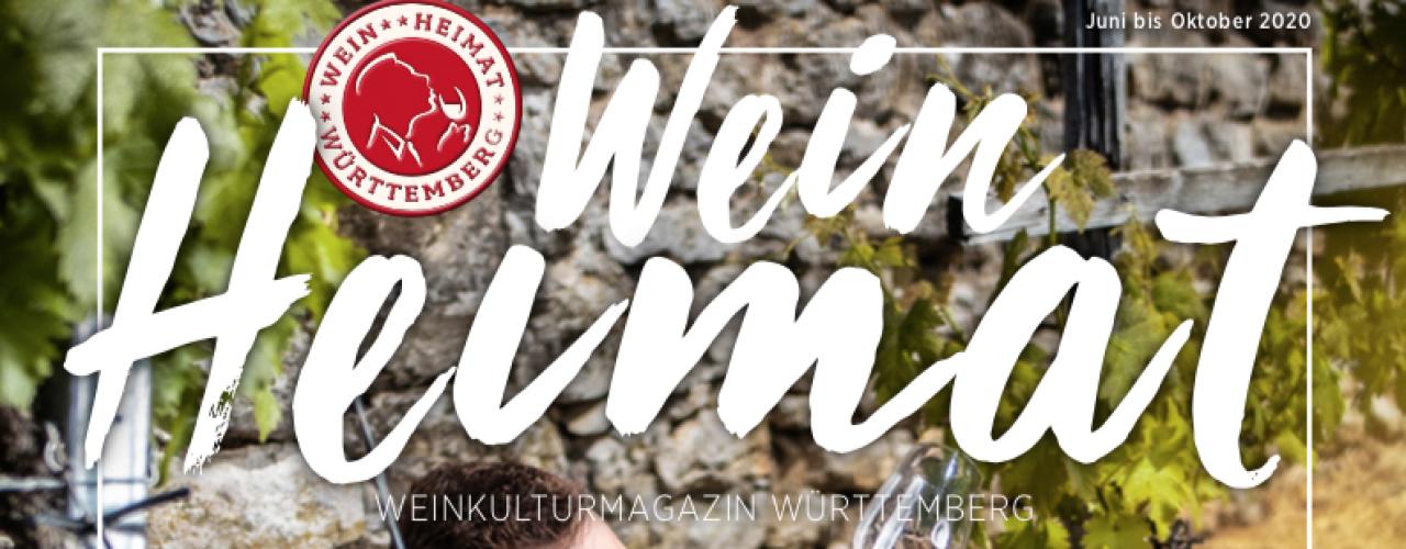 Wein Heimat Magazin Cover Sommerausgabe 2020