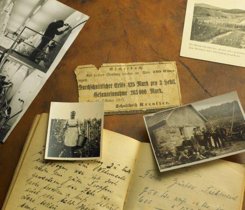 Erinnerungen an die Anfänge der Genossenschaft