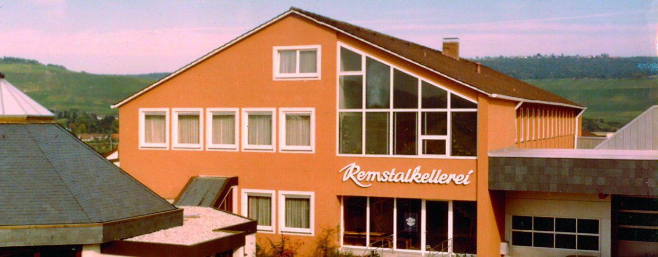 Renoviertes Gebäude der Remstalkellerei