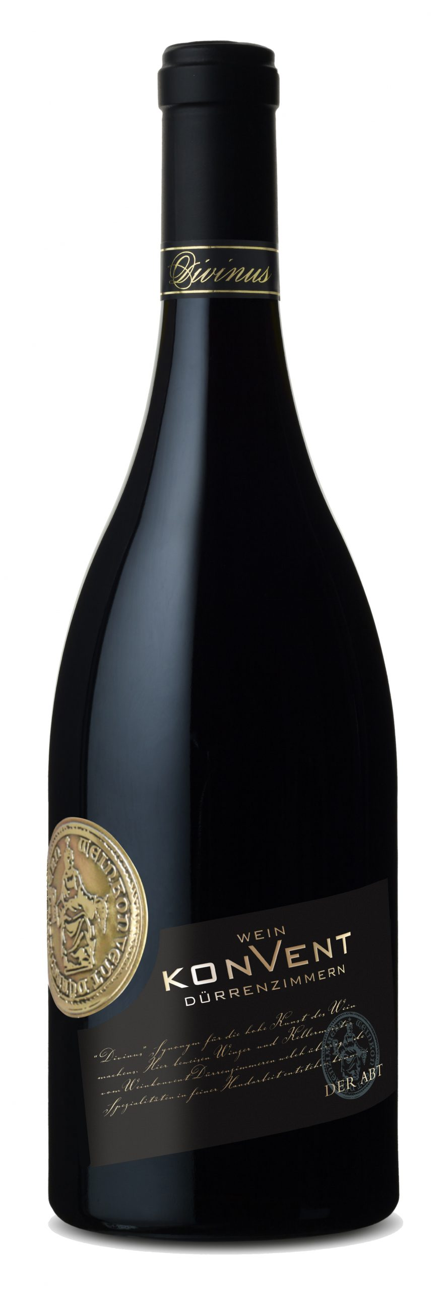 """Rotweincuvée """"Der Abt"""" trocken des Weinkonvent Dürrenzimmern"""