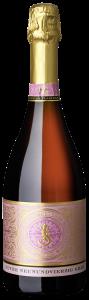 Der Cuvée Neunundvierzig Grad Sparkling Rosé der Felsengartenkellerei