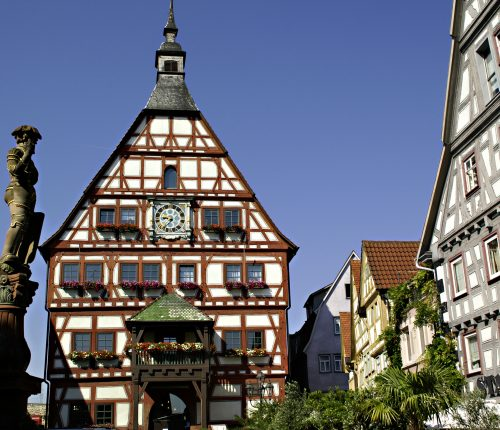 Fachwerkhaus in Besigheim