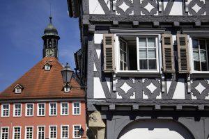 Fachwerkhäuser in Schorndorf