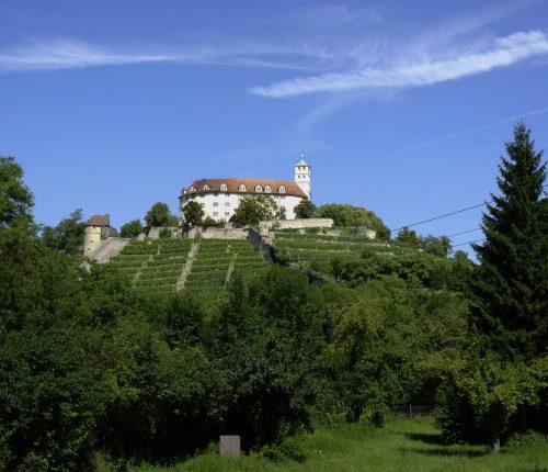 Das Schloss Kaltenstein in Vaihingen