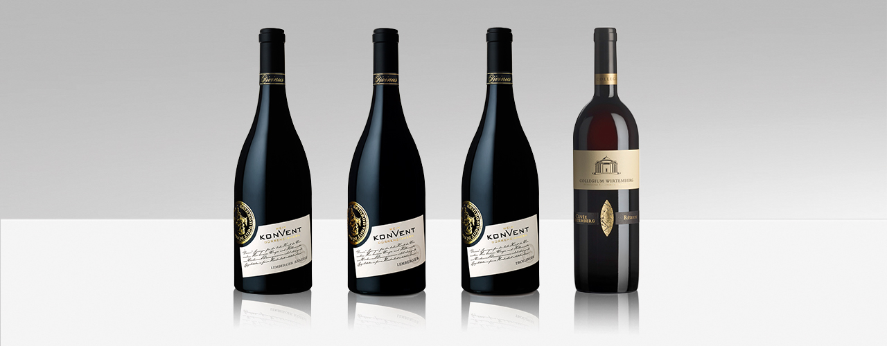 Die beim Deutschen Rotweinpreis ausgezeichneten Weine der Weinheimat Württemberg
