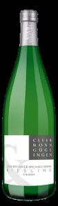 Der VierViertel Riesling trocken der Weingärtner Cleebronn-Güglingen