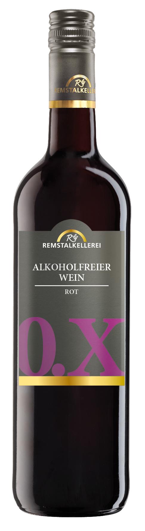 Alkoholfreier Wein: Der alkoholfreie Rotwein 0.X rot