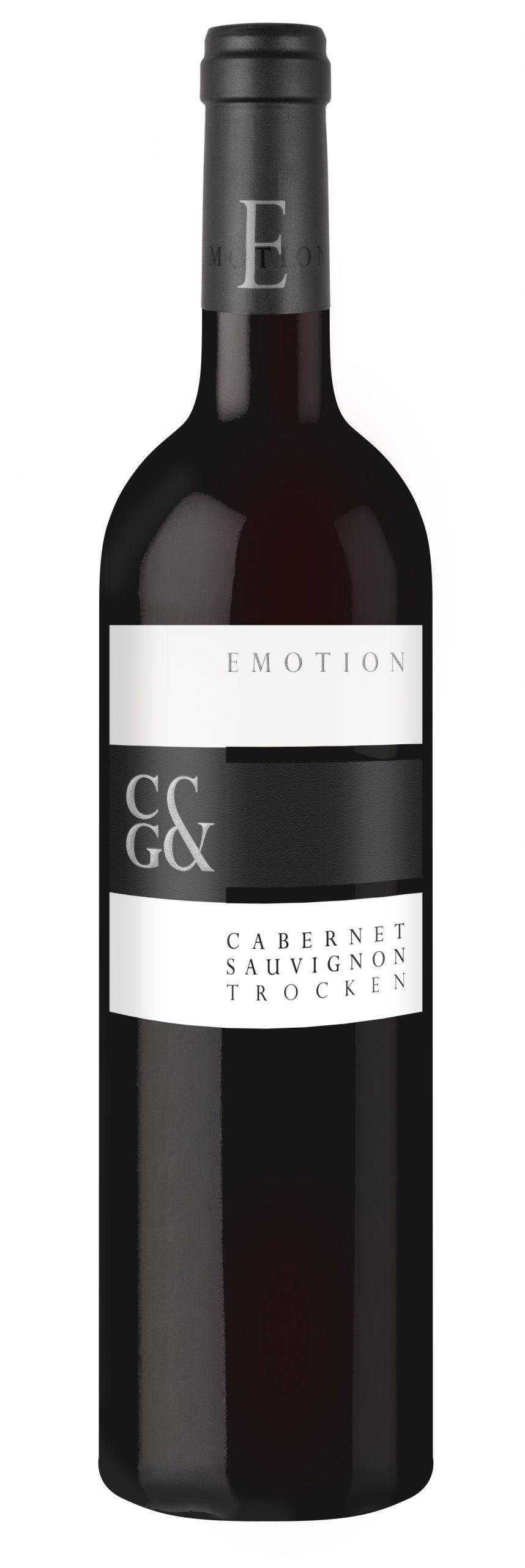 """Beste Festtagsweine Württembergs- das ist einer davon: 2018 Cabernet Sauvignon trocken """"Emotion CG"""" der Weingärtner Cleebronn-Güglingen"""