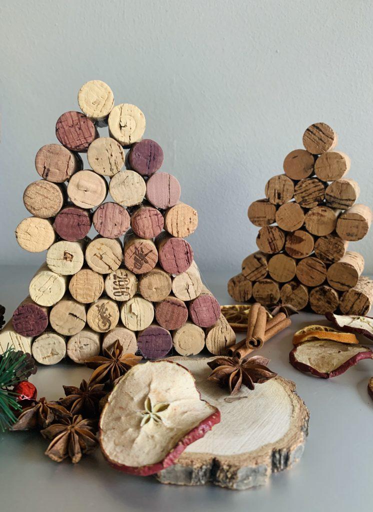Korken-DIYs: Tannenbaum aus Korken