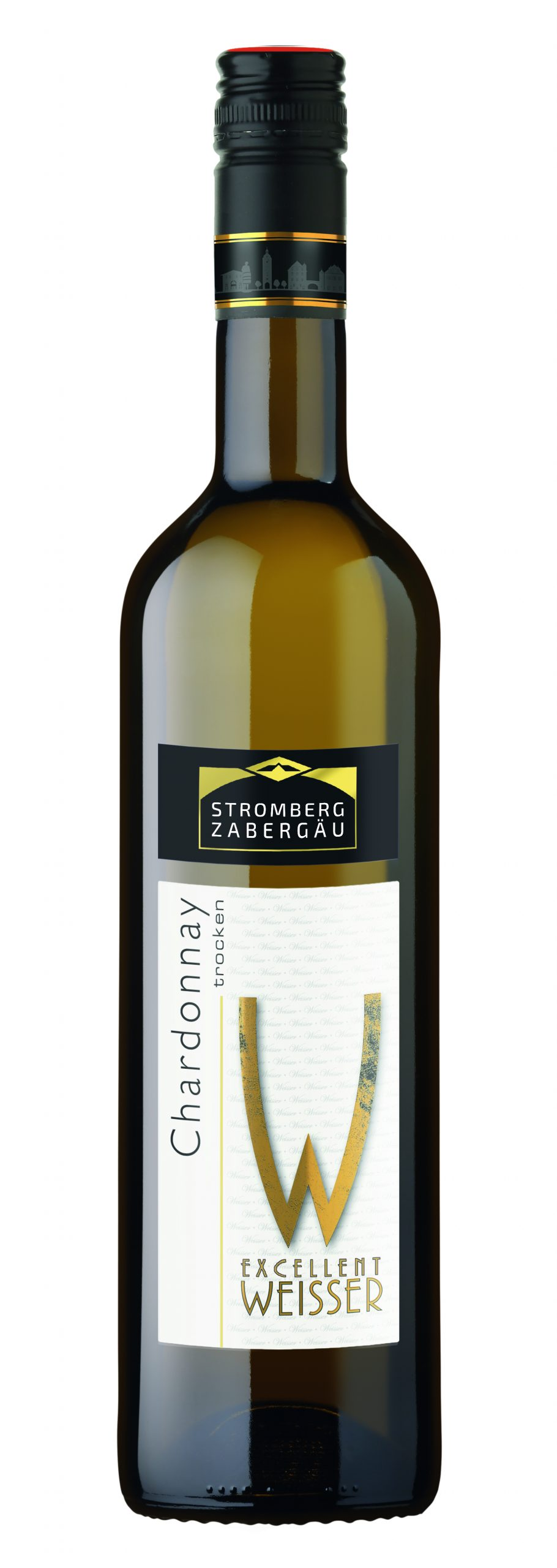 """Die besten Festtagsweine Württembergs - das ist einer davon: 2019 Chardonnay trocken """"Excellent Weisser"""" der Weingärtner Stromberg-Zabergäu"""